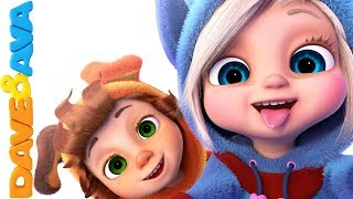 😘 Best Nursery Rhymes & Kids Songs   Nursery Rhymes and Baby Songs from Dave and Ava 😘
