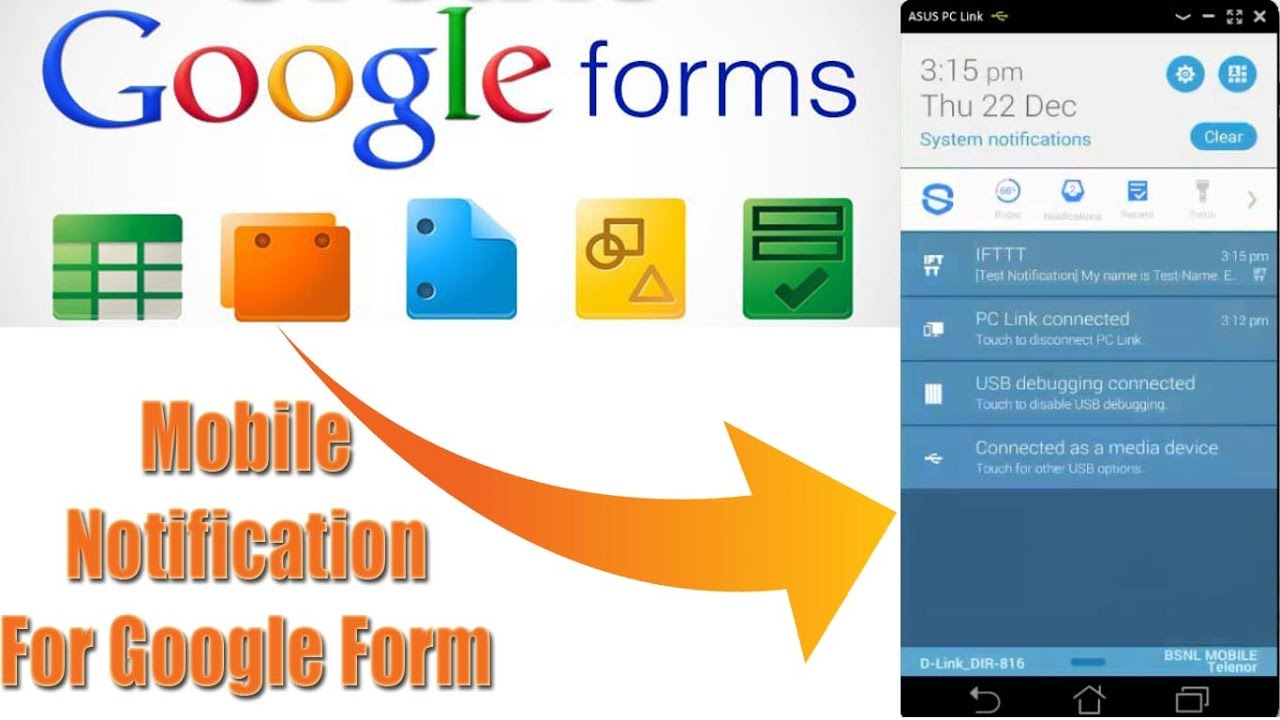 Receive Notifications from Google Forms on your Mobile Phone ...