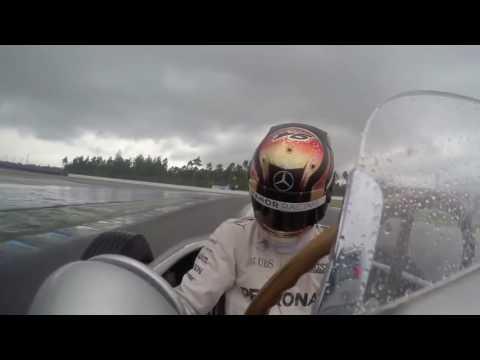F1 2016 Austrian GP Hulkenberg,Wehrlein and Nico Rosberg celebrate 90 years of German GP