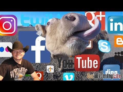 Social Media, The Ranch and Our Wyoming Life
