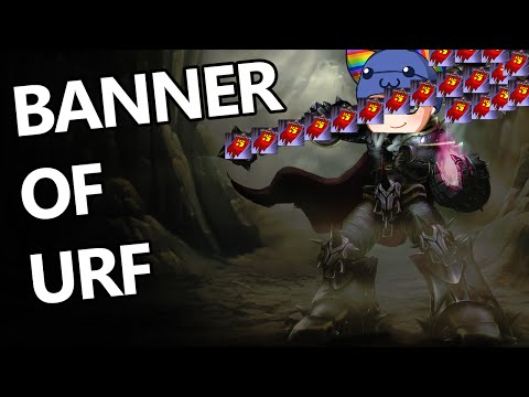 League of Legends - BANNER OF URF FREE WIN - Full Game With Friends