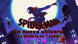 Spider-Man Un Nuevo Universo: La Historia en 1 Video