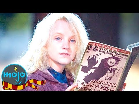 Top 10 Weirdest Harry Potter Characters