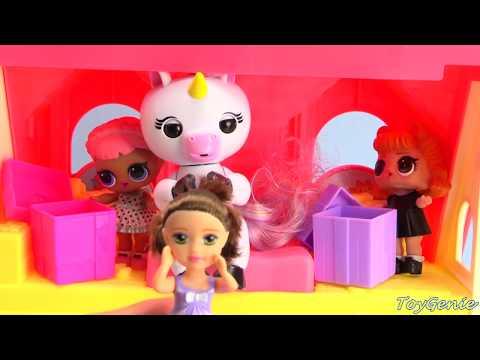 Unicorn Fingerlings LOL Dolls Surprise Present Hunt