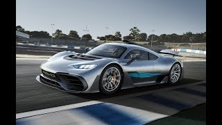 The 1000 PS Mercedes AMG Project One driving scenes