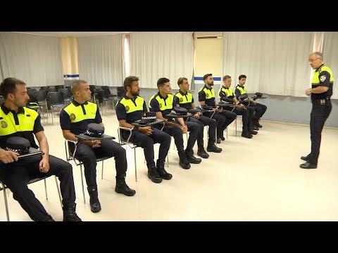 Los policías locales en prácticas comienzan la academia