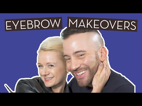 We Got Eyebrow Makeovers From A Nordstrom Beauty…}