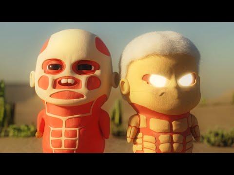 Chibi Titans   Attack On Titan Animation
