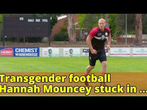 Transgender football Hannah Mouncey stuck in AFL limbo as officials delay approval