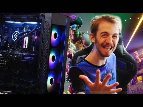 MON NOUVEAU PC GAMER !!!!
