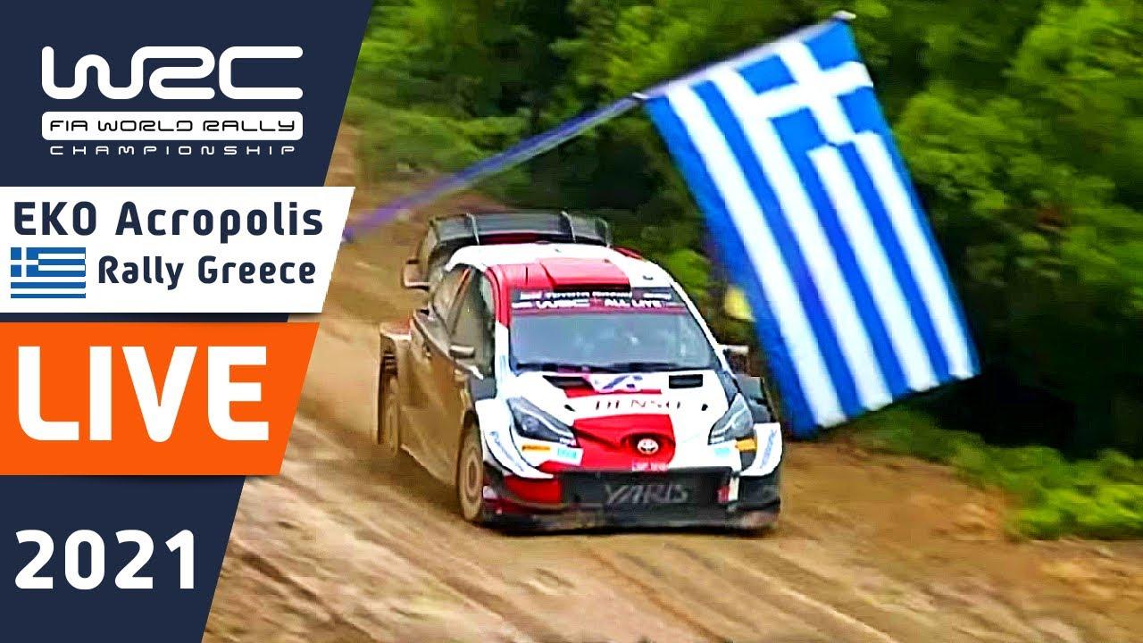 WRC LIVE ! Shakedown at EKO Acropolis Rally Greece 2021 : The WRC live stream from WRC+ ALL LIVE