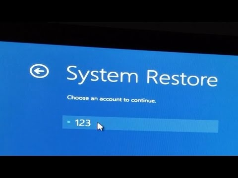 how to fix system restore windows 7
