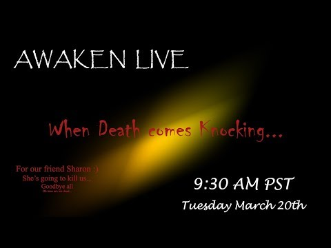 When Death Comes Knocking - Live feed recording