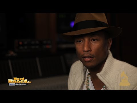 Pharrell Shares Advice for Young Artists Talks Blurred Lines, Get Lucky, GRAMMYs