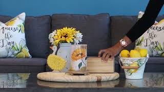 How to Style Your Sunflower Simmering Light