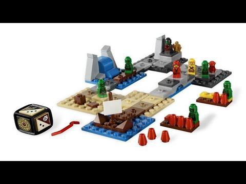 Обзор настольной игры  Lego Heroica Залив Драйда (Draida Bay)