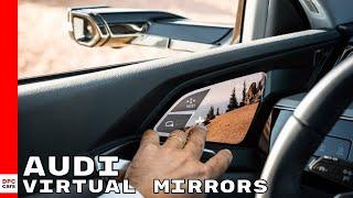 Virtual Exterior Mirrors on Electric 2019 Audi e tron SUV