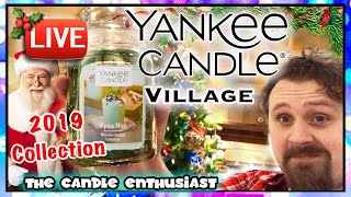 2019 Yankee Candle Village - Christmas - Mountain Collection - All Holiday Returning Favorites