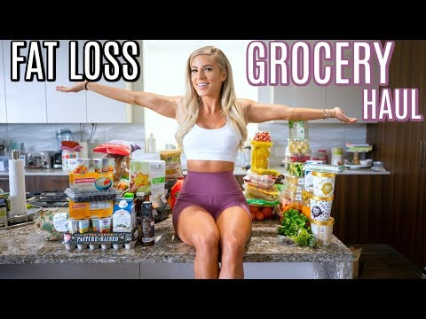 FAT LOSS GROCERY HAUL | Lets shred
