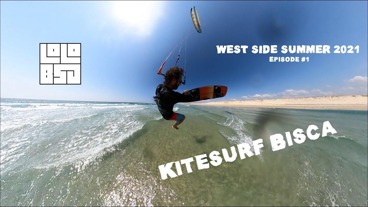 WEST SIDE SUMMER 2021 Episode #1 - Kitesurf Bisca