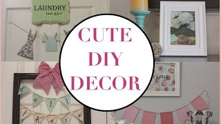 DIY Cute Spring Decor