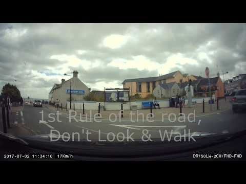 Dash Cam Clips Ireland - Bad Driving, Dodgy Overtaking, Pedestrians and more!
