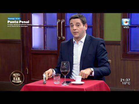 Danilo Tegaldo y la Dra. Alejandra Rey