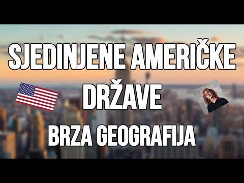 Sjedinjene Americke Drzave SAD | Brza Geografija | Sve o Americi