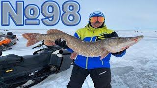 ЩУКИ МОНСТРЫ Обзор 98 Рыбалка в Марте Рыбалка в Казахстане 2020 Крупные весенние ЩУКИ