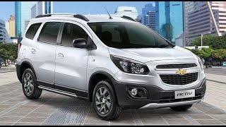 Test Drive Chevrolet Spin Activ