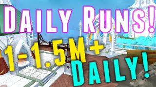 Runescape 3 - Daily Run - 1-1.5m Profit Everyday in 15 Minutes!