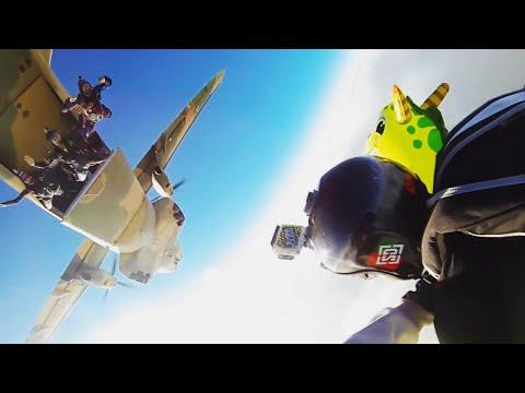 Makgadikgadi Epic - Botswana Skydiving Boogie (SHORT Version)