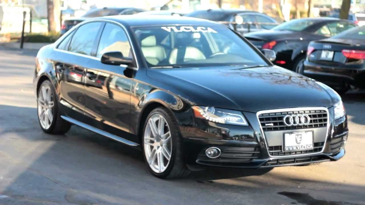 2012 audi a4 s line village luxury cars toronto youtube for S line exterieurpaket a4