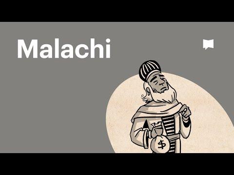 Read Scripture: Malachi