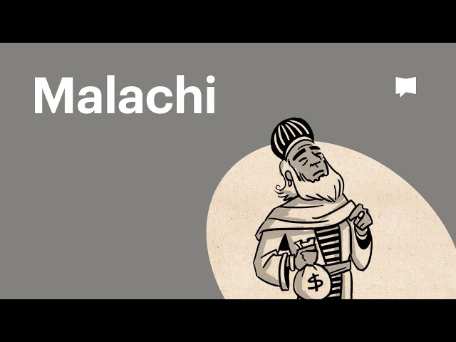 Overview: Malachi