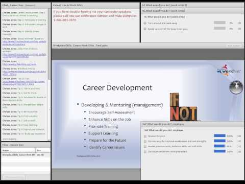 Soft Skills Webinar Series: Career Development & Work Ethic