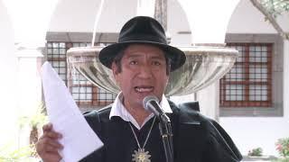 REUNIÓN DE RESPALDO A PUEBLOS INDÍGENAS