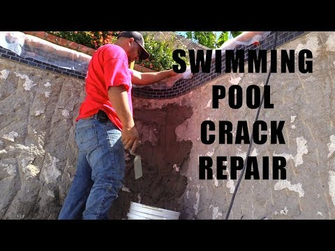 How to repair a structural crack in a swimming pool - Ultimate Pool ...