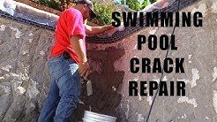 How to repair a structural crack in a swimming pool - Ultimate Pool Guy - The Truth 6.4