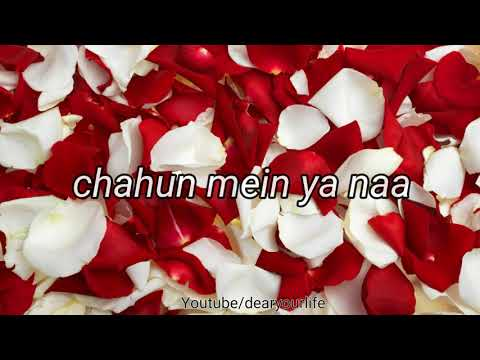 Tu hi ye mujhko bata de❤/❤Aashiqui 2❤/love song❤/female version❤/whatsapp status video