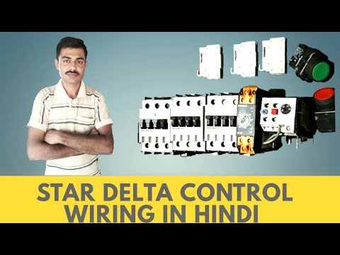 star delta control wiring