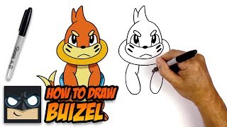 How to Draw Pokemon | Buizel | Step-by-Step