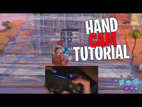 How to be a really fast builder (hand cam/claw cam tutorial) - Fortnite