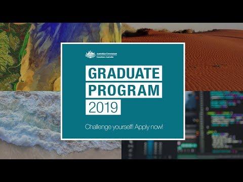 Geoscience Australia 2019 Graduate Program - Overview