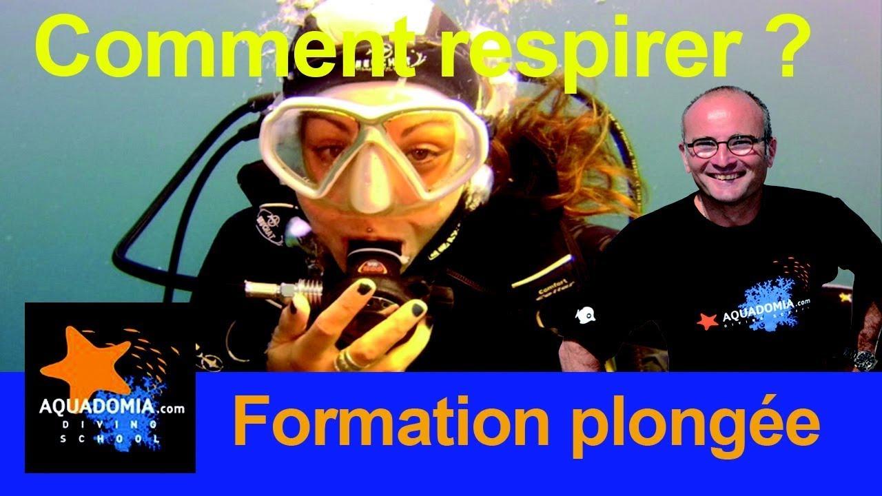 Comment respirer plongée sous marine