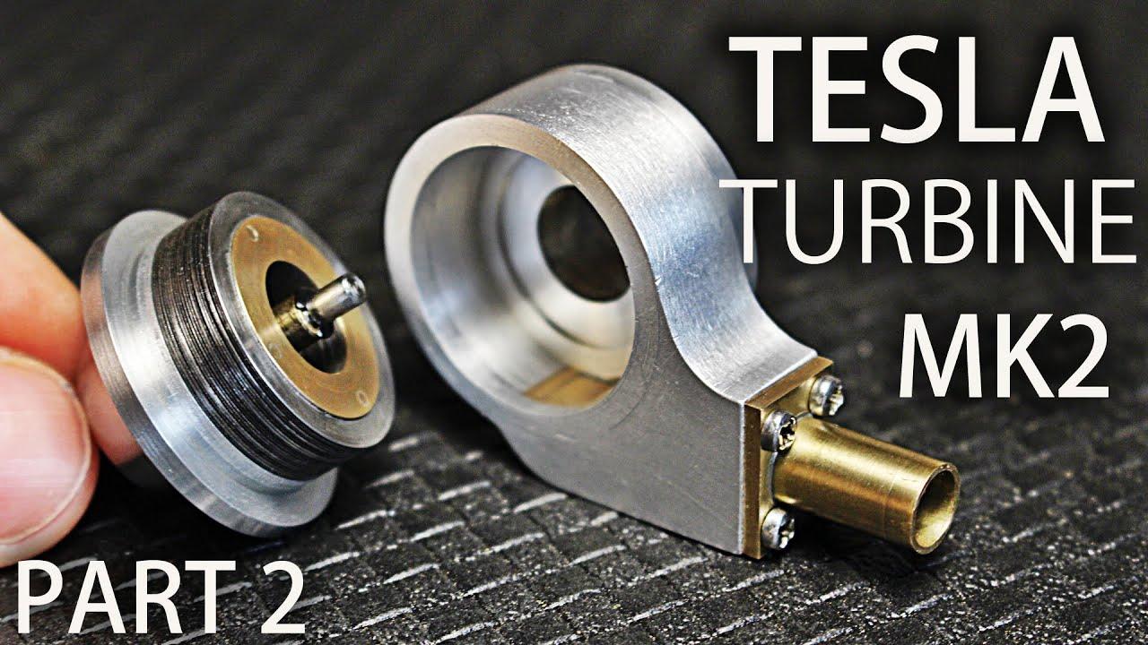 Micro Tesla Turbine MK2 Part2