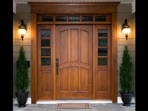 Tamil Nadu wooden Front doors design - YouTube