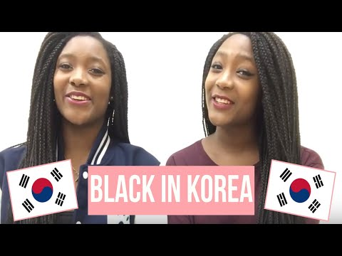 || Black in Korea || // Our Hair, Staring, and Relationships