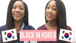 BLACK IN KOREA // Our Hair, Staring, and Relationships