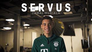 Messi, Neymar, Ronaldinho - Musiala's big idols | Servus, Jamal Musiala